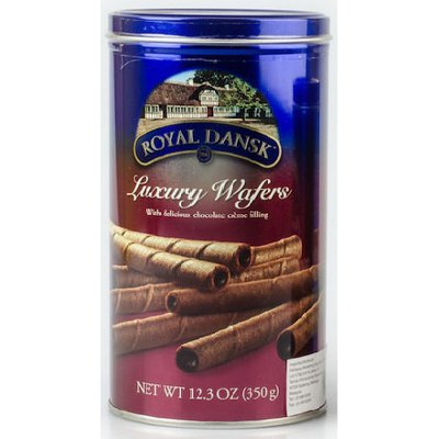 Royal Dansk Luxury Wafers Chocolate Flavor