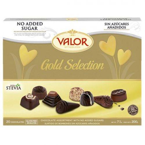 Valor Chocolates Gold Selection 200g