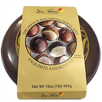 Yves Thuries Choc macaroons