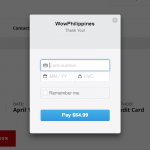 New Payment Method